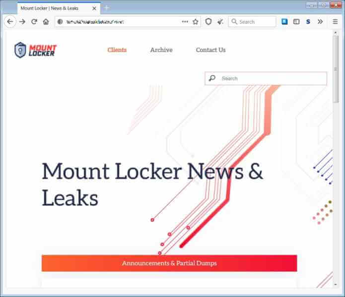 Mount Locker Ransomware