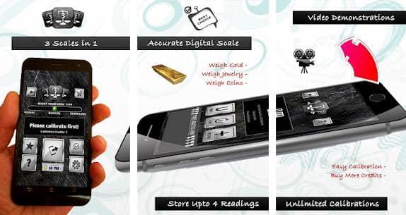 3 Grams Free Digital Scales