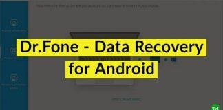 Dr.Fone - Data Recovery