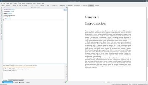 Kile LaTex Editor