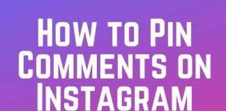 Pin Comments on Instagram App