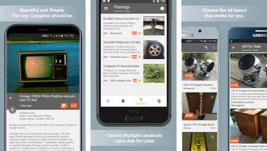 Postings (Craigslist Search App)