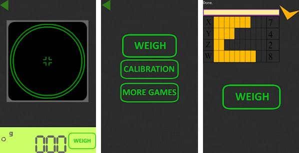 Scale in Grams Simulator Joke