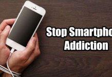 Stop smartphone addiction