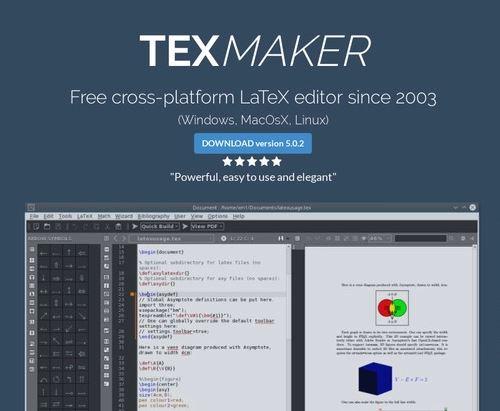 TexMaker editor