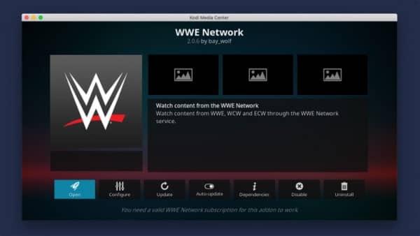 WWE On Demand