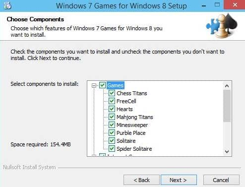 Juegos de Windows 7 para Windows 10