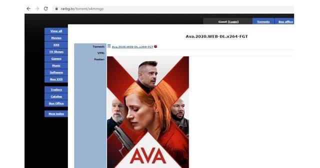 AVA torrent