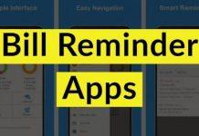 Bill Reminder Apps