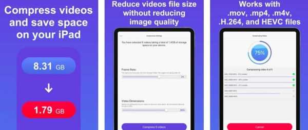 Compress Videos and Resize