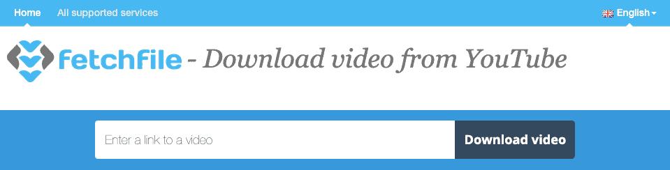 Fetch File online portal