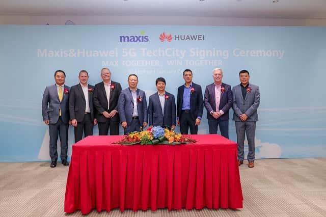 Maxis se asocia con Huawei para la implementación de 5G