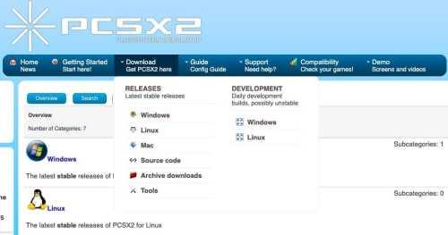 PCSX 2 emulator