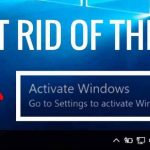 Remove Activate Windows Watermark