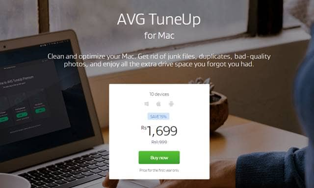 AVG Tuneup for Mac