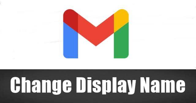 Cambiar su nombre para mostrar en Gmail
