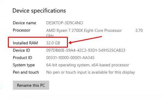Cara Cek RAM Komputer di Windows