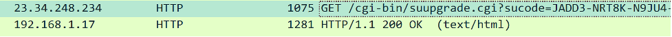 WinZip traffic in clear text