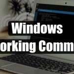 Windows Networking commands