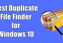 Best Duplicate File Finder for Windows 10