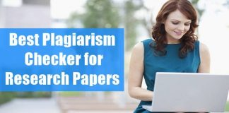 Best Plagiarism Checker for Research Papers and Thesis