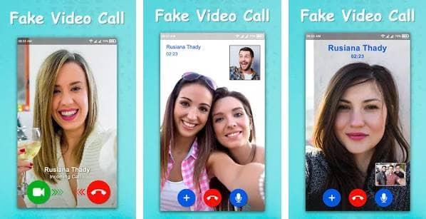 Videollamada falsa