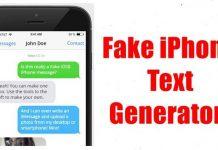 Fake iPhone Text Generators