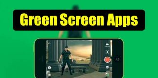 Green Screen apps for iOS and Android