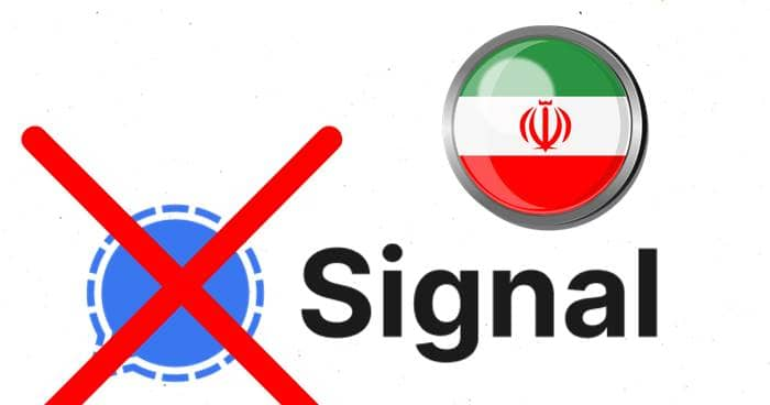 Iran Blocks Signal Messaging App