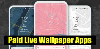 Paid Live Wallpaper apps