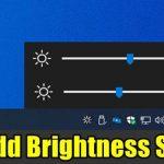 Add Brightness Slider in Windows 10 (1)