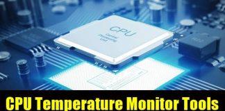 CPU Temperature Monitor Tools