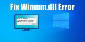 Fix winmm.dll error