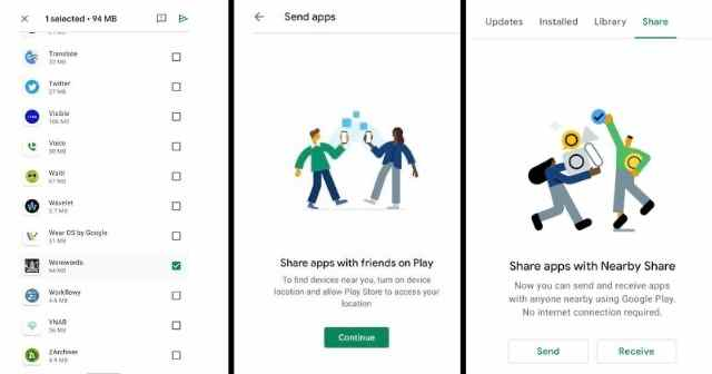 Google's Nearby Share Now Available on Play Store