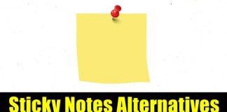 Sticky Notes Alternatives