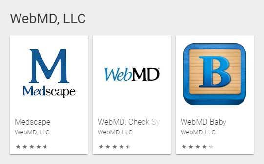 WebMD Medical Apps