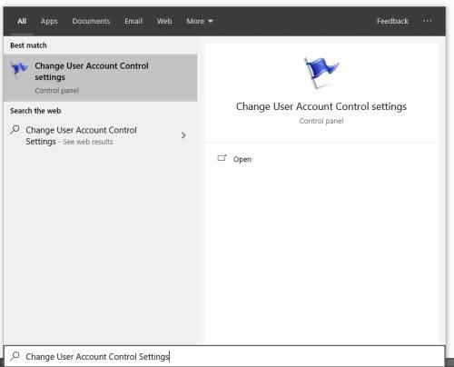 Change user account