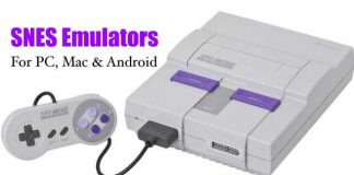 SNES Emulators for Mac, PC, Android
