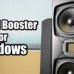 Sound Booster for Windows