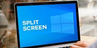 Use Split Screen in Windows 10 PC