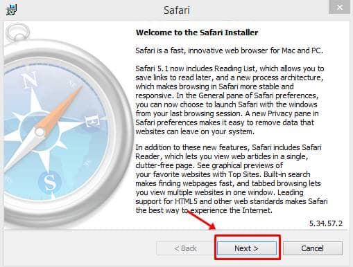 Install Safari Browser on Windows 10
