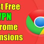Free VPN Chrome Extensions