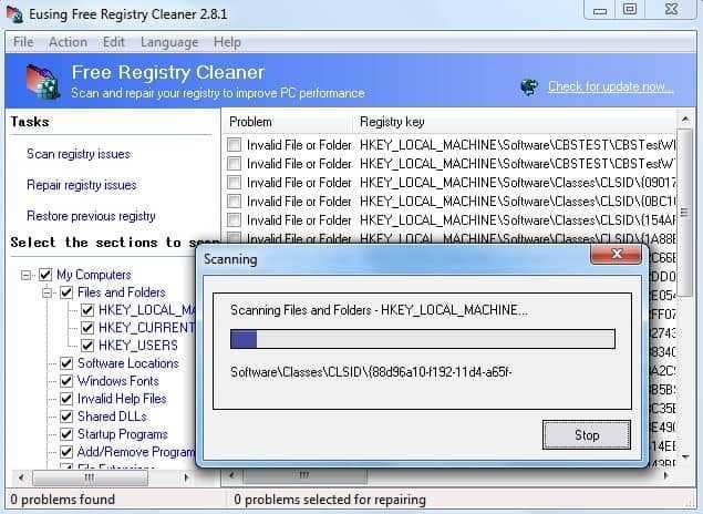Eusing Registry cleanerr (1)