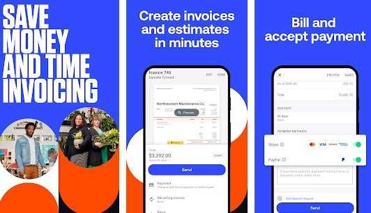 Simple invoice maker (Invoice 2go)