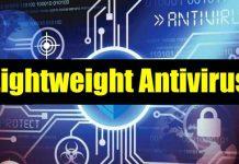 Lightweight antivirus for Windows
