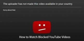 Ways to watch blocked youtube videos