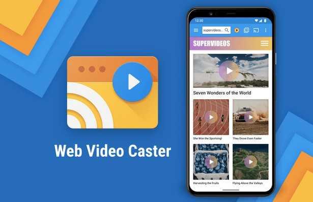 Web video casster