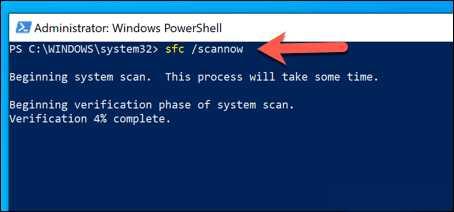 Windows-SFC-PowerShell