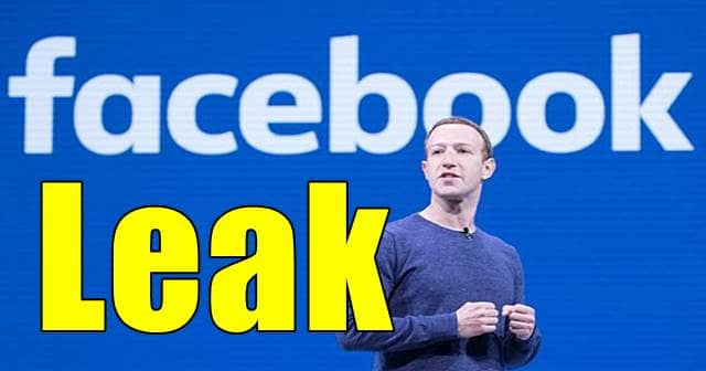 Facebook Data Leak: Over 553 Million Users PII Leaked For Free Online