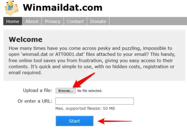 How To Open a Winmail.dat File
